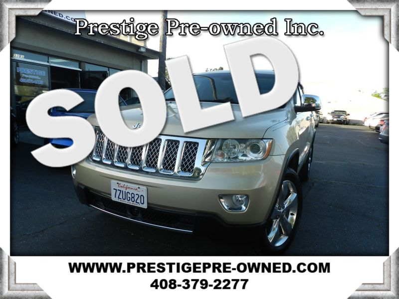 2011 Jeep Grand Cherokee Overland Summit (*AWD & All OPTIONS*)  in Campbell CA