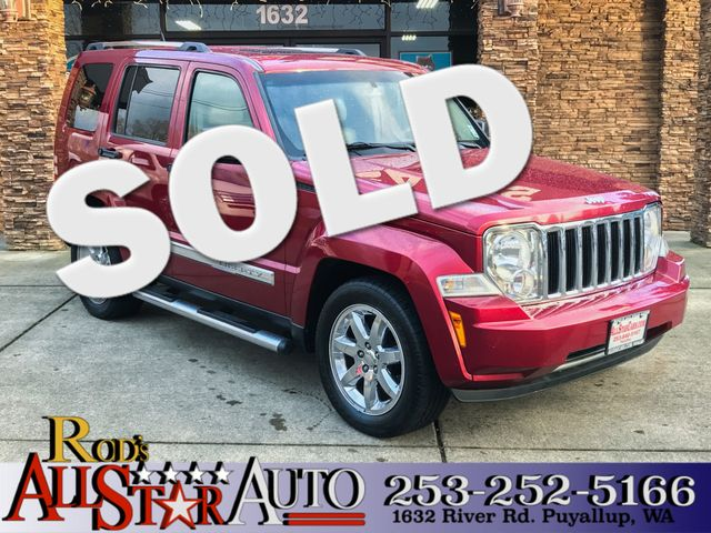 2011 Jeep Liberty Limited 4WD New Price Clean CARFAX Red 2011 Jeep Liberty Limited 4WD 4-Speed A