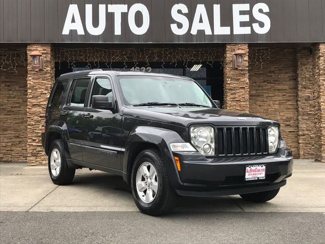 2011 Jeep Liberty Sport Clean CARFAX Dark Charcoal 2011 Jeep Liberty Sport 4WD 4-Speed Automatic