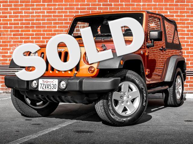 2011 Jeep Wrangler Sport Burbank, CA 0