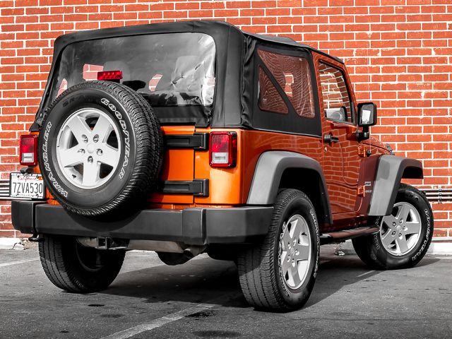 2011 Jeep Wrangler Sport Burbank, CA 7