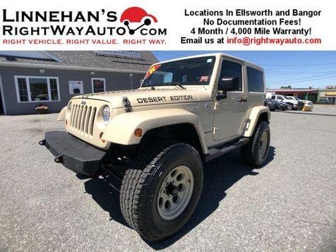 2011 Jeep Wrangler Sahara in Bangor
