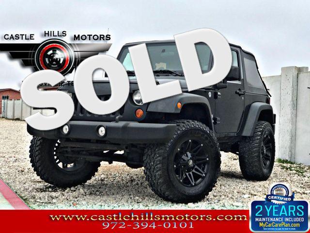 2011 Jeep Wrangler Sport | Lewisville, Texas | Castle Hills Motors in Lewisville Texas