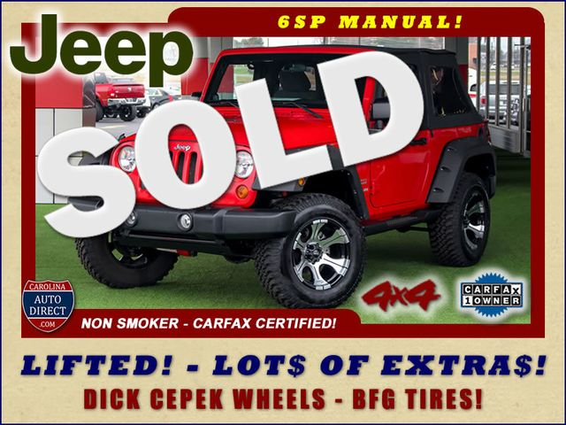 2011 Jeep Wrangler Sport 4WD - LIFTED - LOTS OF EXTRA$! Mooresville , NC 0