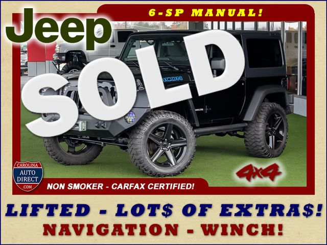 2011 Jeep Wrangler Rubicon 4x4 - LIFTED - NAV - LOT$ OF EXTRA$! Mooresville , NC 0