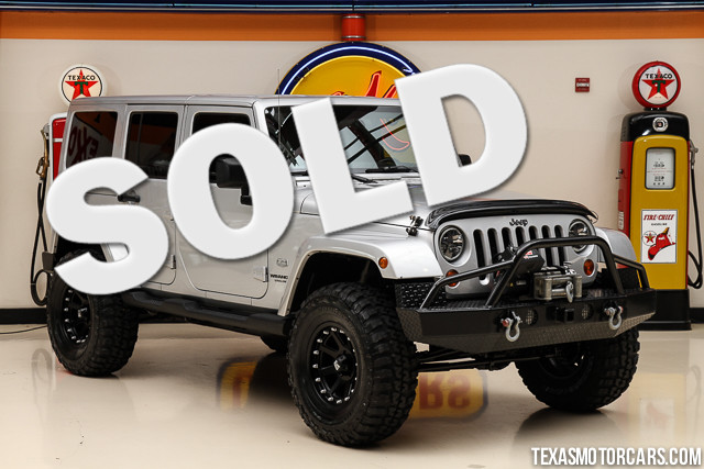 2011 Jeep Wrangler Unlimited 70th Anniversary This Carfax 1-Owner accident-free 2011 Jeep Wrangle