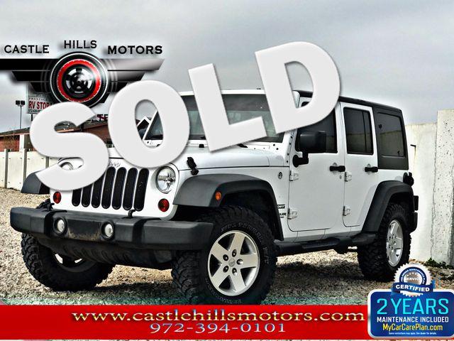 2011 Jeep Wrangler Unlimited Sport | Lewisville, Texas | Castle Hills Motors in Lewisville Texas