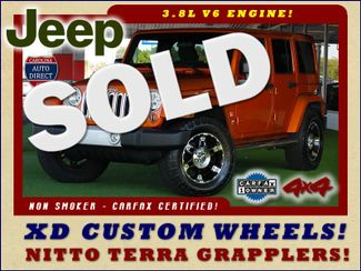 2011 Jeep Wrangler Unlimited Sahara 4X4 - CUSTOM WHEELS/TIRES! Mooresville , NC