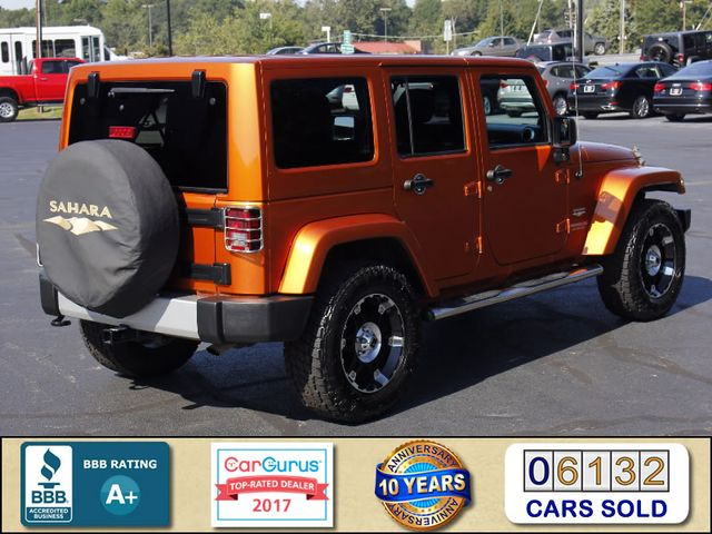 2011 Jeep Wrangler Unlimited Sahara 4X4 - CUSTOM WHEELS/TIRES! Mooresville , NC 2