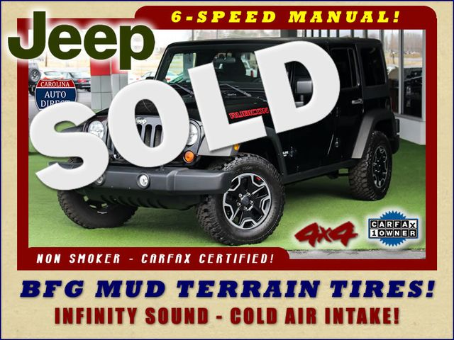 2011 Jeep Wrangler Unlimited Rubicon 4X4 - 1 OWNER - 6SP MANUAL! Mooresville , NC 0