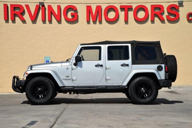 2011 Jeep Wrangler Unlimited 70th Anniversary San Antonio , Texas 2