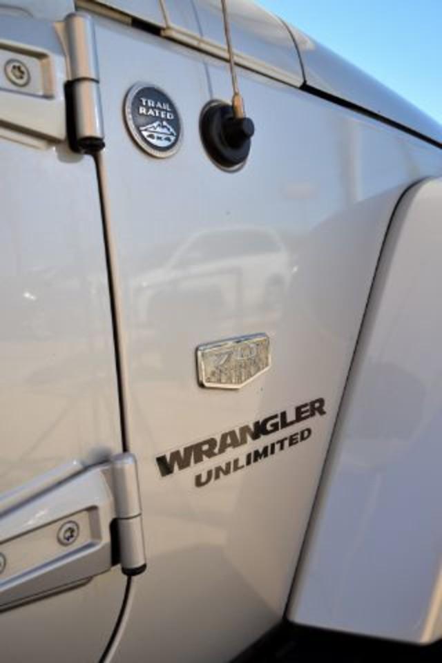 2011 Jeep Wrangler Unlimited 70th Anniversary San Antonio , Texas 23