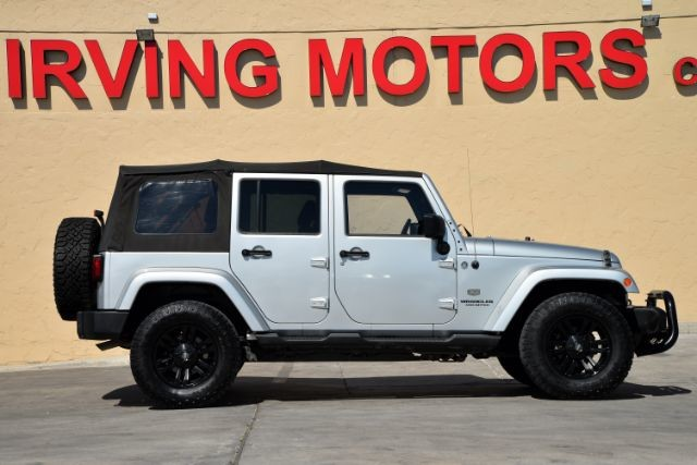 2011 Jeep Wrangler Unlimited 70th Anniversary San Antonio , Texas 4