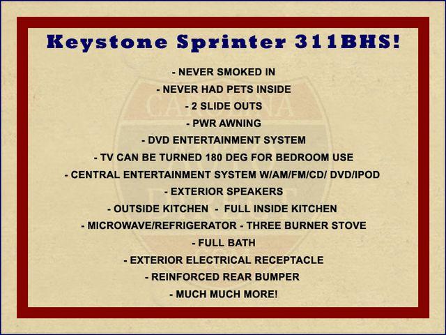 2011 Keystone Sprinter 311BHS Mooresville , NC 1