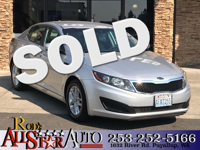 2011 Kia Optima LX The CARFAX Buy Back Guarantee that comes with this vehicle means that you can b