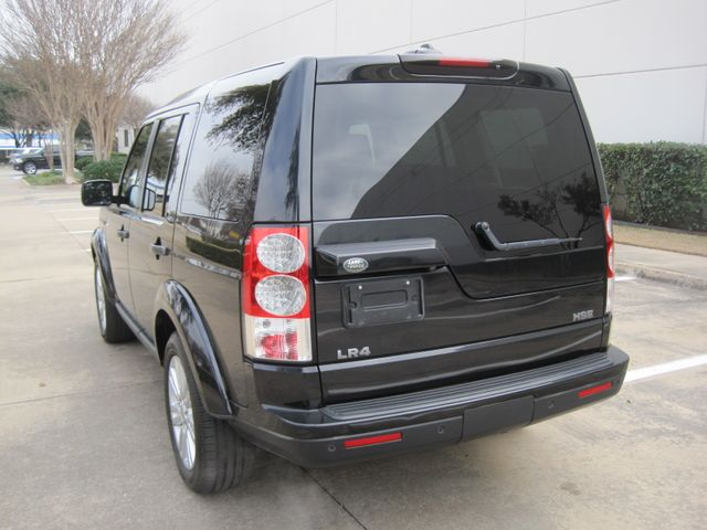 2011 Land Rover LR4 HSE, 1 Owner, Black Beauty, X/nice, Must See Plano, Texas 8