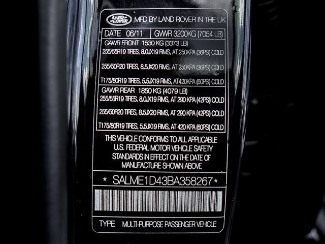2011 Land Rover Range Rover HSE Burbank, CA 27