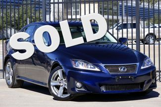 2011 Lexus IS 250 A/C SEATS * Paddle Shifters * HID's * Keyless *18s Plano, Texas