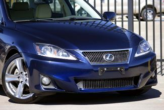 2011 Lexus IS 250 A/C SEATS * Paddle Shifters * HID's * Keyless *18s Plano, Texas 18