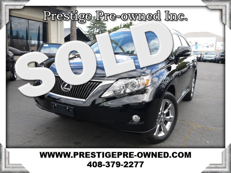 2011 Lexus RX 350  AWD ((**NAVIGATION & BACKUP CAMERA**))  in Campbell CA