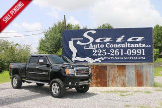 2011 Lifted Gmc 2500 Hd Denali 4wd Crew Cab Duramax DIESEL 4WD 37S 0N 20S BAD TO THE BONE TWO OWNER CLEAN CARFAX | Baton Rouge , Louisiana | Saia Auto Consultants LLC-[ 4 ]