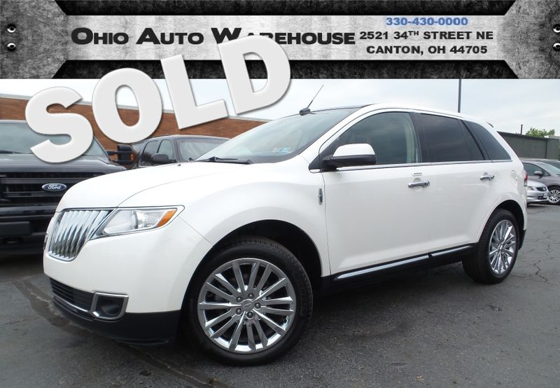 2011 Lincoln MKX AWD Navi Pano 1-Owner Clean Carfax We Finance | Canton, Ohio | Ohio Auto Warehouse LLC in Canton Ohio
