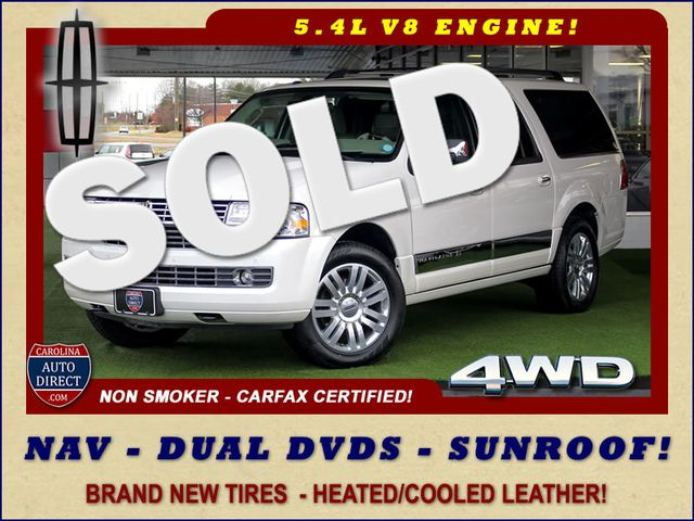 2011 Lincoln Navigator L 4WD - NAV - DUAL DVDS - SUNROOF - NEW TIRES! Mooresville , NC 0