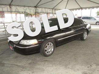 2011 Lincoln Town Car Executive w/Limousine Pkg Gardena, California