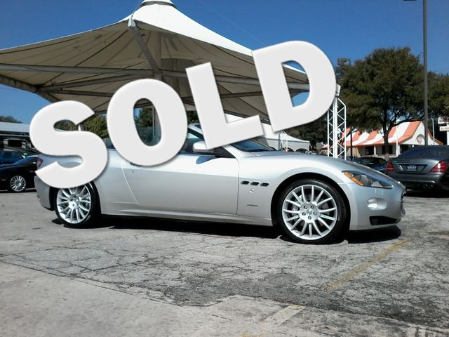 2011 Maserati GranTurismo Convertible San Antonio, Texas 0