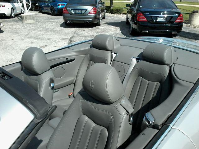 2011 Maserati GranTurismo Convertible San Antonio, Texas 16