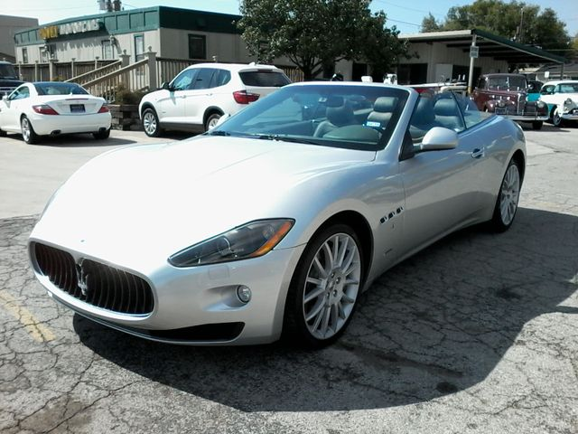 2011 Maserati GranTurismo Convertible San Antonio, Texas 4