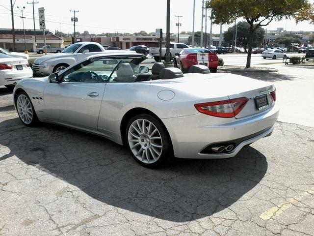 2011 Maserati GranTurismo Convertible San Antonio, Texas 6