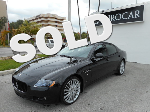 2011 Maserati Quattroporte S 47L V8 DOHC Runs at full tilt Up up and away If you demand the b