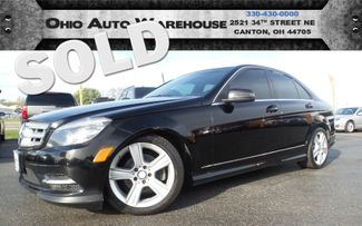 2011 Mercedes-Benz C 300 Sport 4Matic AWD Sunroof Can Carfax We Finance | Canton, Ohio | Ohio Auto Warehouse LLC in  Ohio