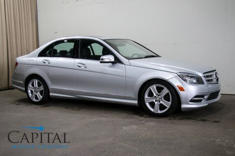 2011 Mercedes-Benz C300 Sport 4Matic AWD Luxury Car w/Moonroof, Heated Seats and 8-Speaker Sound System in Eau Claire