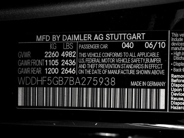 2011 Mercedes-Benz E 350 Sport Burbank, CA 10