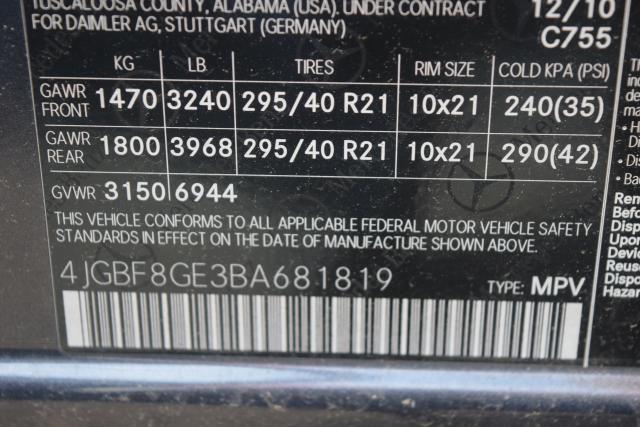 2011 Mercedes-Benz GL 550 GL550 SUV Richmond Hill, New York 22