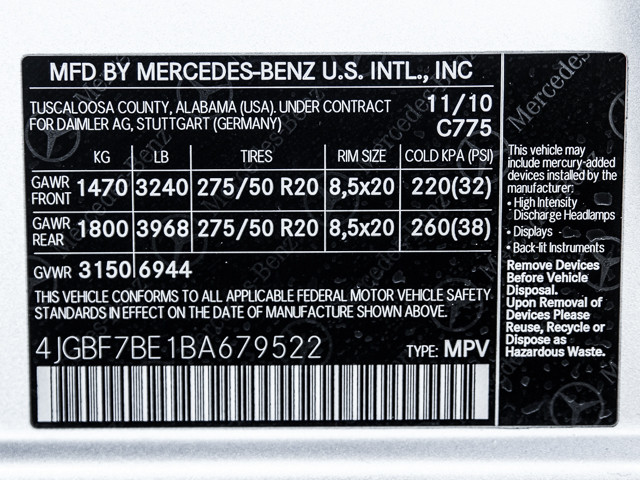 2011 Mercedes-Benz GL450 Burbank, CA 33