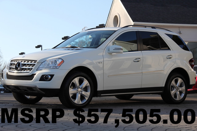 2011 Mercedes M-Class AWD ML350 BlueTEC 4MATIC 4dr SUV AMFM CD Player CD Changer Anti-Theft Su