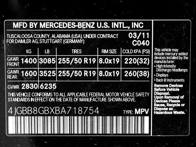 2011 Mercedes-Benz ML 350 Burbank, CA 29
