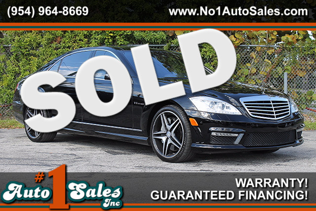2011 Mercedes S63 AMG  WARRANTY CARFAX CERTIFIED AUTOCHECK CERTIFIED 1 OWNER FLORIDA VEHICL