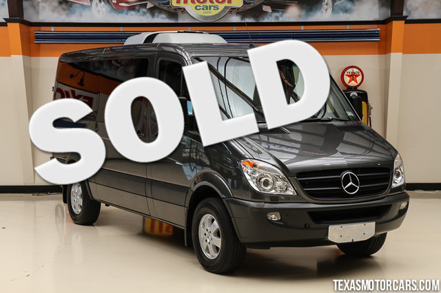 Used mercedes benz sprinter for sale dallas tx cargurus for 2011 mercedes benz sprinter reviews