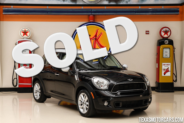 2011 MINI Countryman S This Carfax 1-Owner 2011 MINI Countryman S is in great shape with only 43
