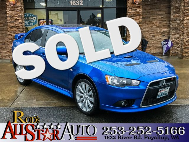 2011 Mitsubishi Lancer Ralliart AWD This vehicle is a CarFax certified one-owner used car Pre-own