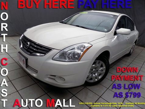 2011 Nissan Altima 2.5 S As low as $799 DOWN in Cleveland, Ohio