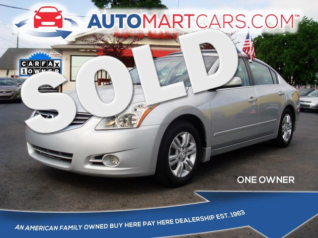 2011 Nissan Altima 2.5 SL | Nashville, Tennessee | Auto Mart Used Cars Inc. in Nashville Tennessee