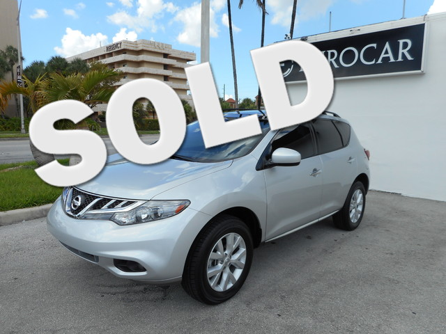 2011 Nissan Murano SV Come and visit us at wwweurocarmiamicom for our expanded inventory this