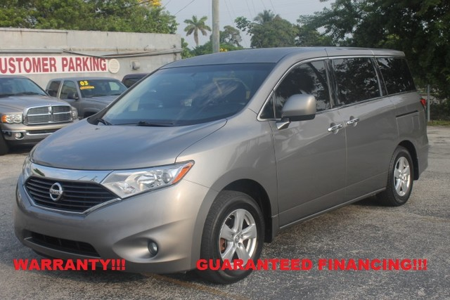 2011 Nissan Quest SV  WARRANTY CARFAX CERTIFIED 1 OWNER FLORIDA VEHICLE 11 SERVICE RECORDS