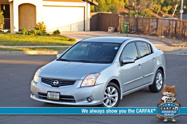 2011 Nissan SENTRA 2.0 SL SEDAN FULLY LOADED LEATHER ALLOY WHLS 1-OWNER SERVICE RECORDS NEW TIRES Woodland Hills, CA 0