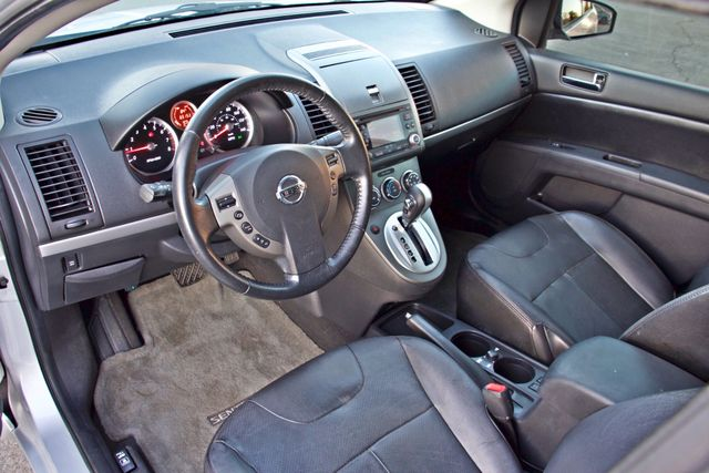 2011 Nissan SENTRA 2.0 SL SEDAN FULLY LOADED LEATHER ALLOY WHLS 1-OWNER SERVICE RECORDS NEW TIRES Woodland Hills, CA 15